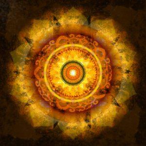 Manipura Chakra Mandala von Stephanie Köhler - mandalalight